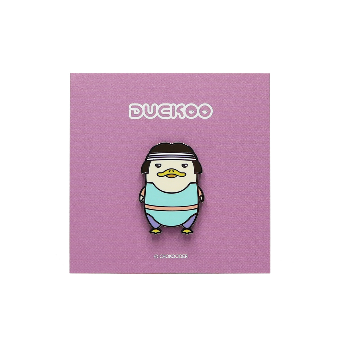 [BADGE] AEROBICS DUCKOO